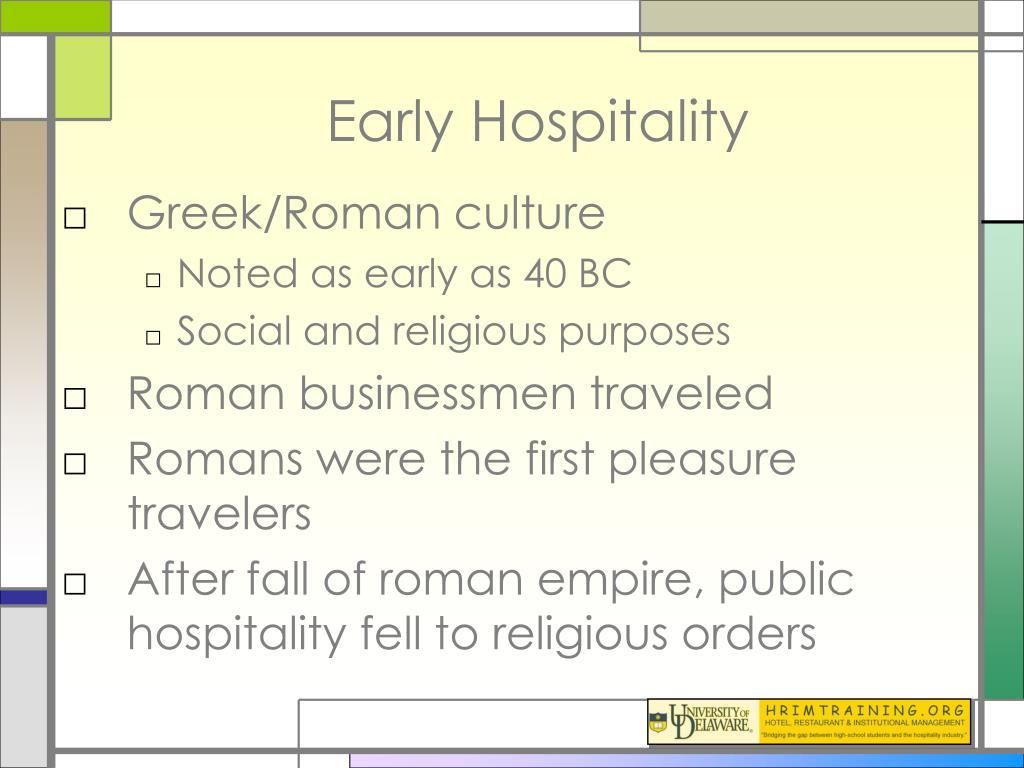 Early Hospitality