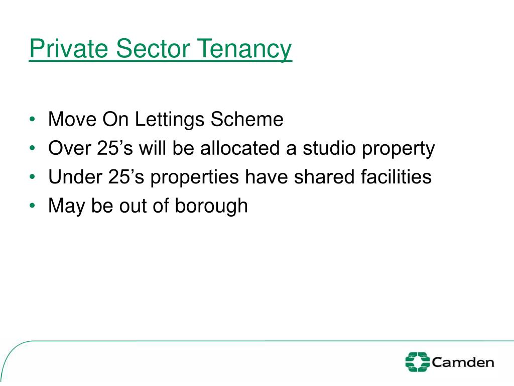 Private Sector Tenancy