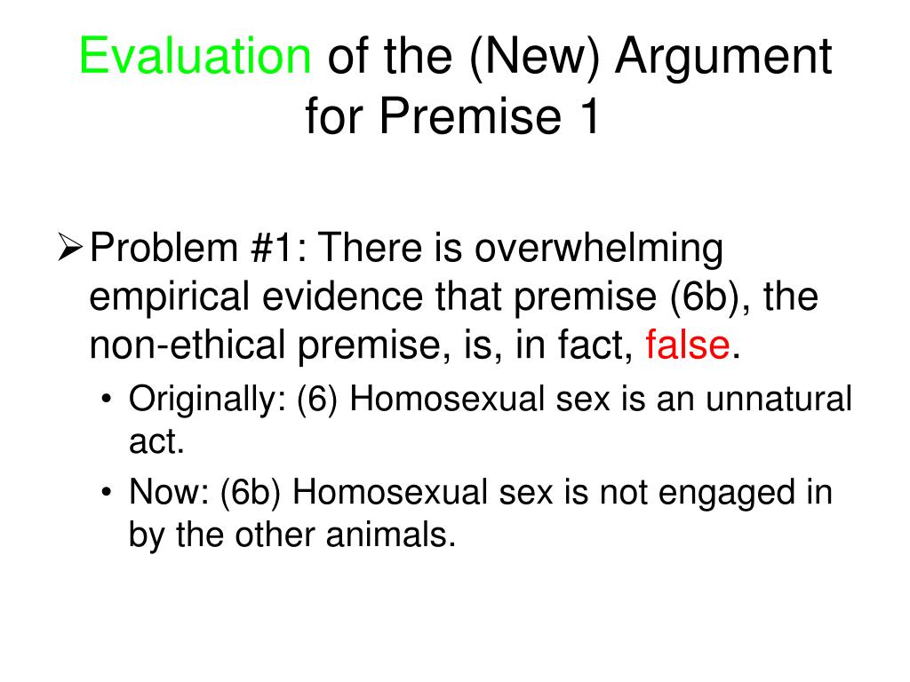 homosexual activity ethics General approaches, political doctrines, ethical doctrines  therefore, male  homosexual acts are 'abnormal' in the sense that 'it leaves unfulfilled an innate  and.