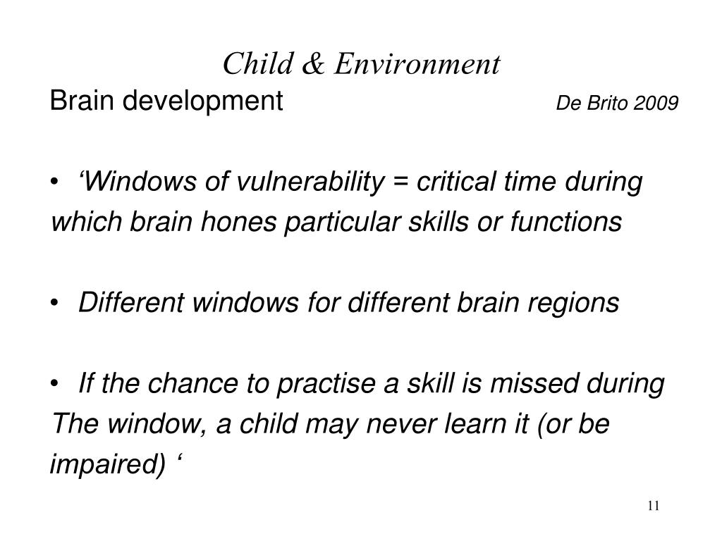 child development and the environment Heredity and environment in child development harold ellis  jones director of research, institute of child welfare, university of california.