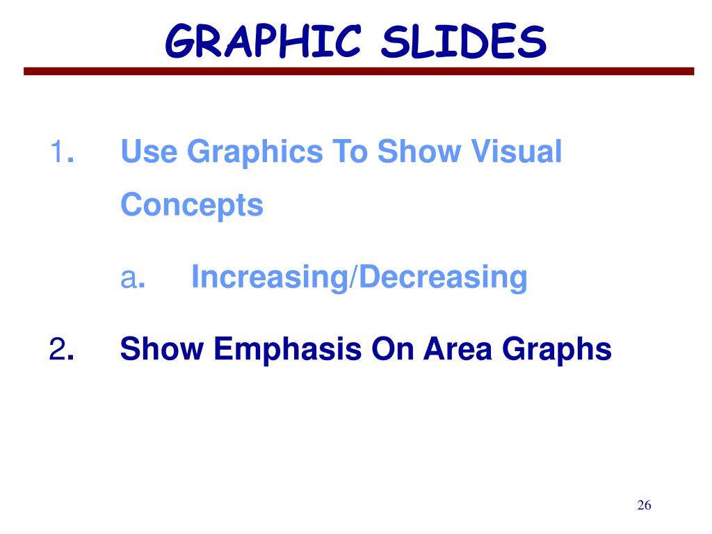 GRAPHIC SLIDES