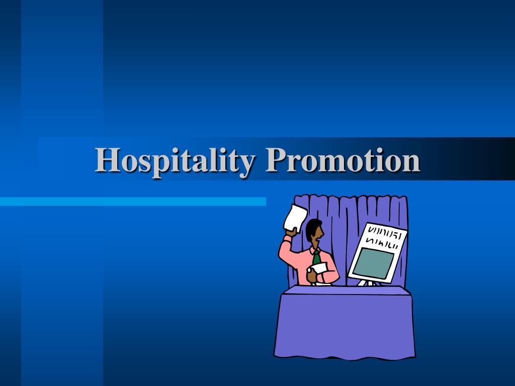 Hospitality Promotion