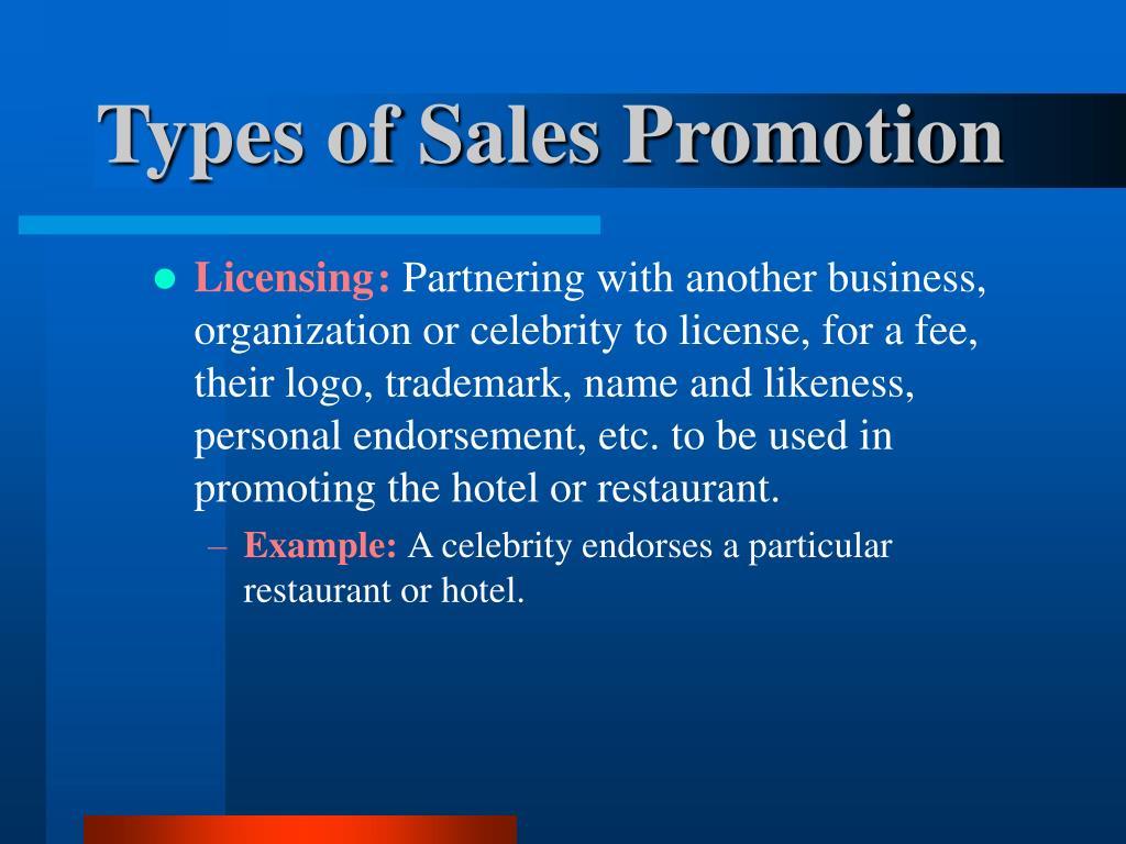 Licensing: