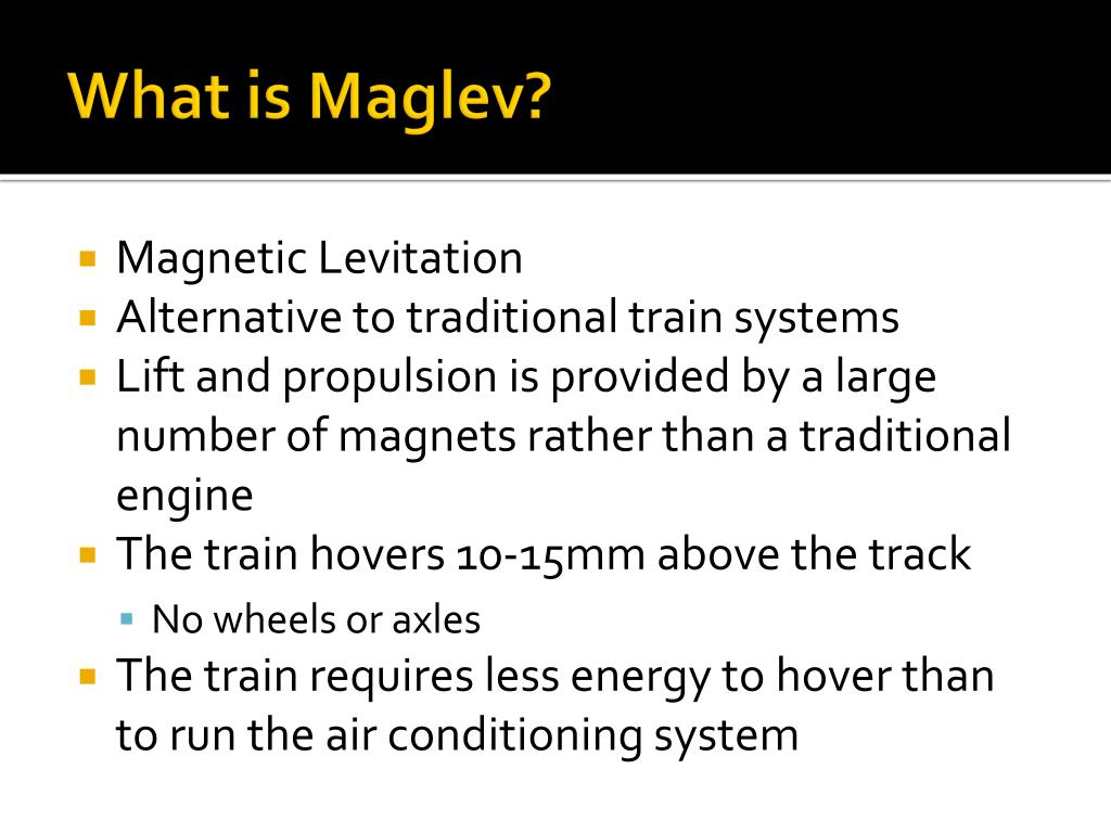 What is Maglev?