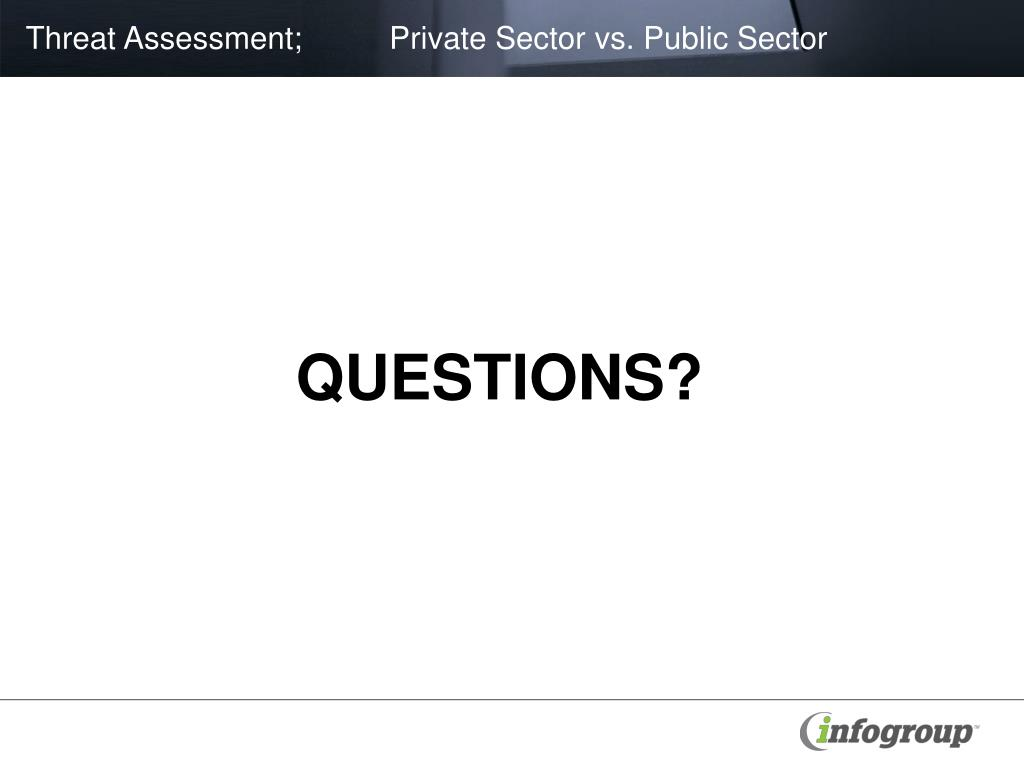 public sector vs private sector Public vs private sector – an examination of neo-liberal ideology dr iram khan1 abstract the paper reviews the theoretical underpinnings of the debate on the.