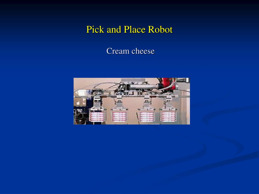 Pick and Place Robot