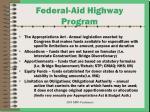 federal aid highway program6