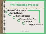 the planning process11