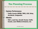 the planning process13
