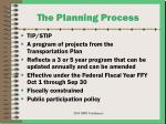 the planning process16