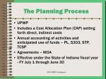 the planning process17