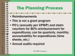 the planning process19