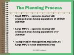 the planning process8