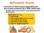 mypyramid grains