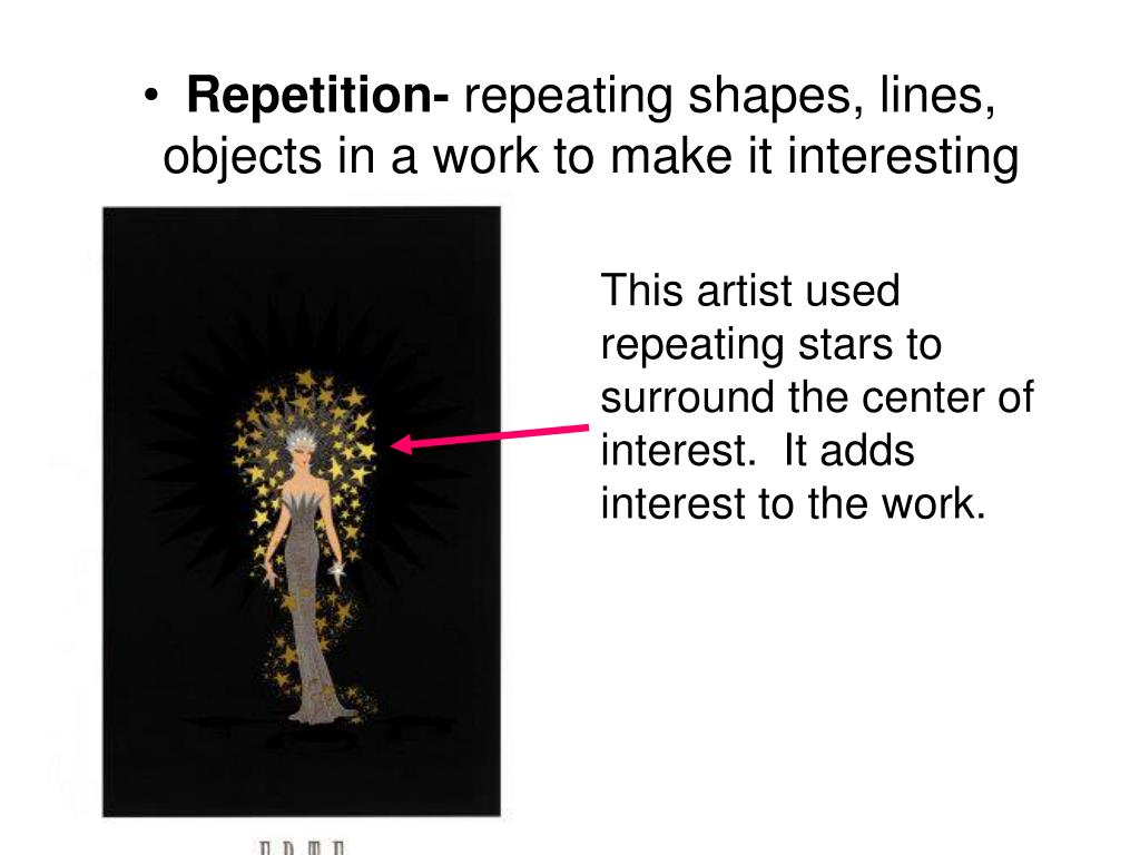 Repetition-