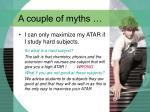 a couple of myths18