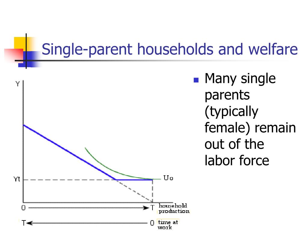 Single-parent households and welfare