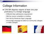 college information14