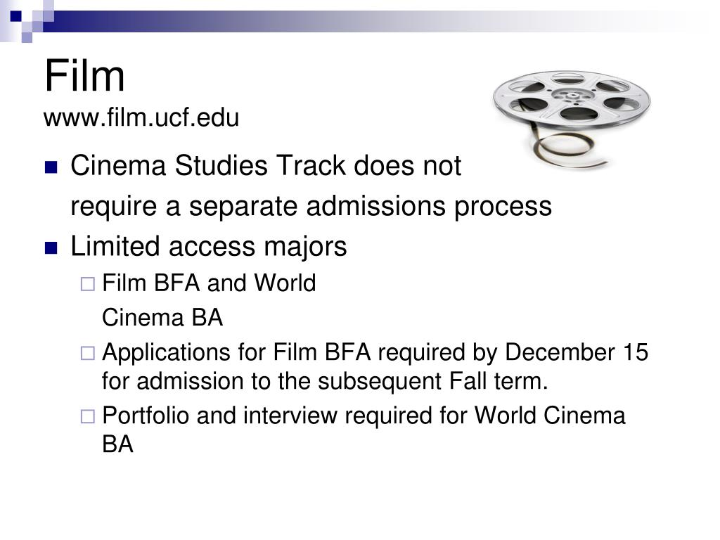Cinema Studies Track does not