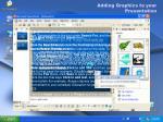 adding graphics to your presentation
