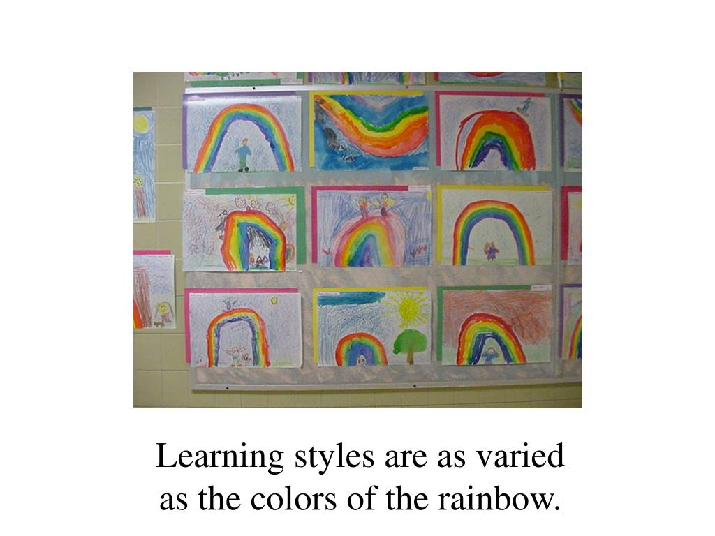 Learning styles are as varied