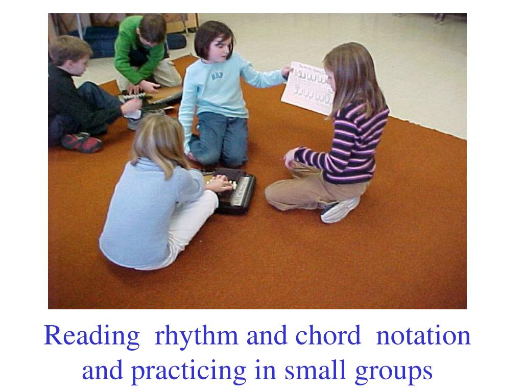 Reading  rhythm and chord  notation