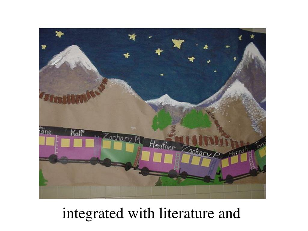 integrated with literature and