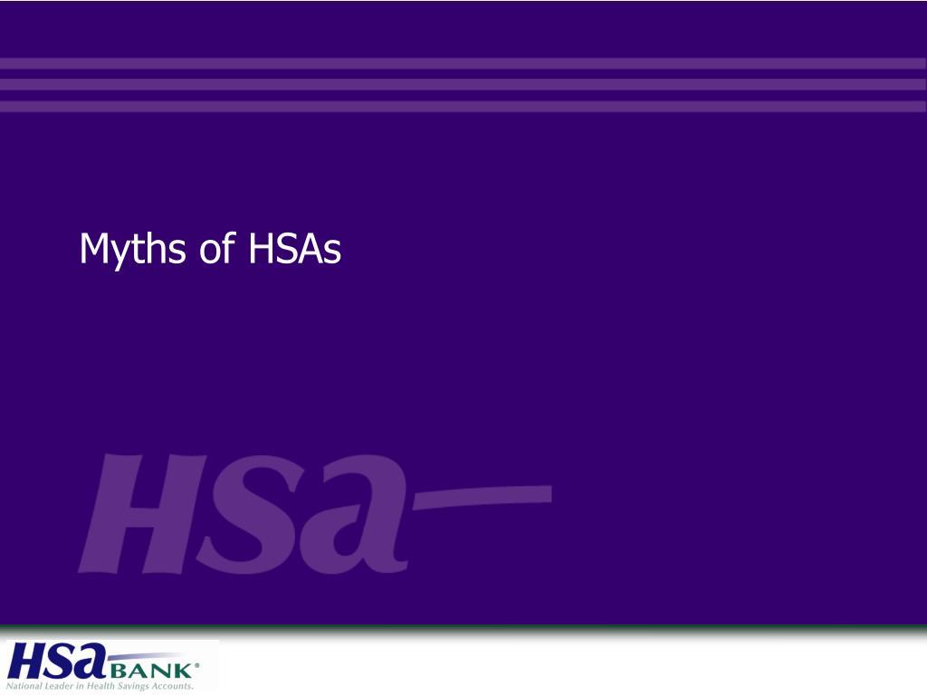 myths of hsas