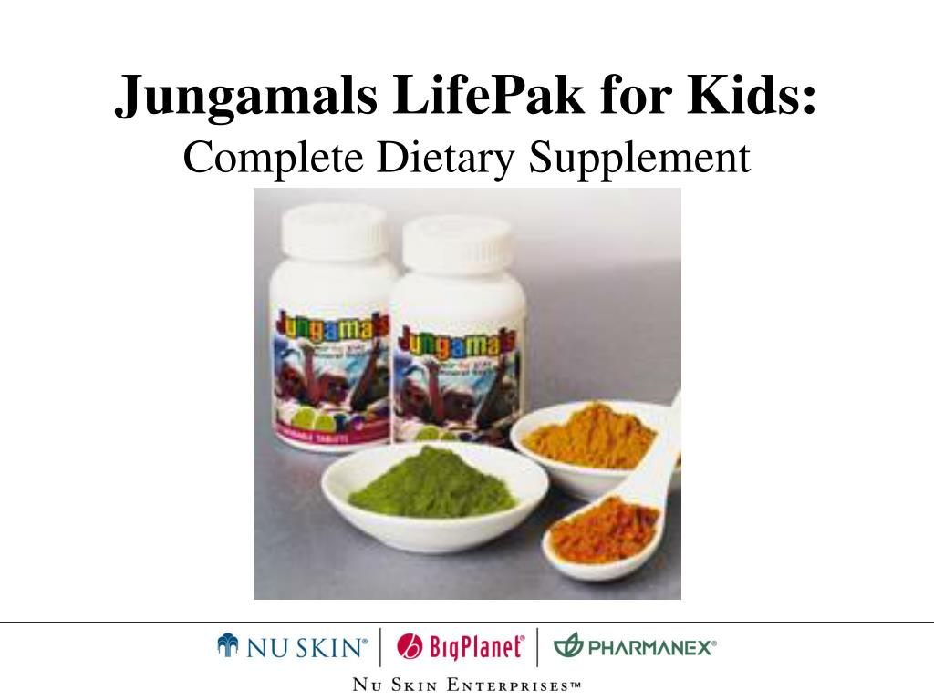 Jungamals LifePak for Kids: