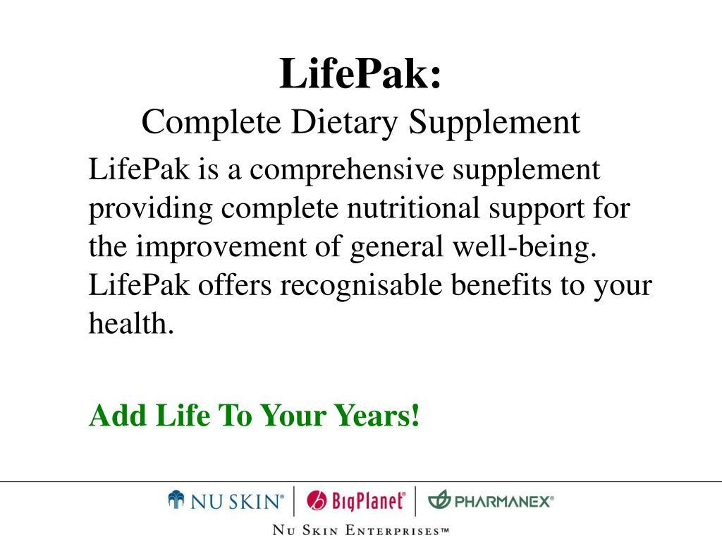 LifePak: