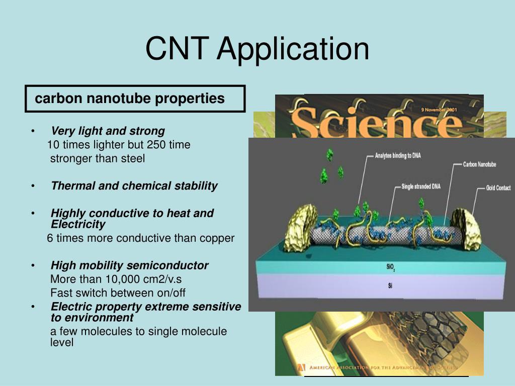 CNT Application