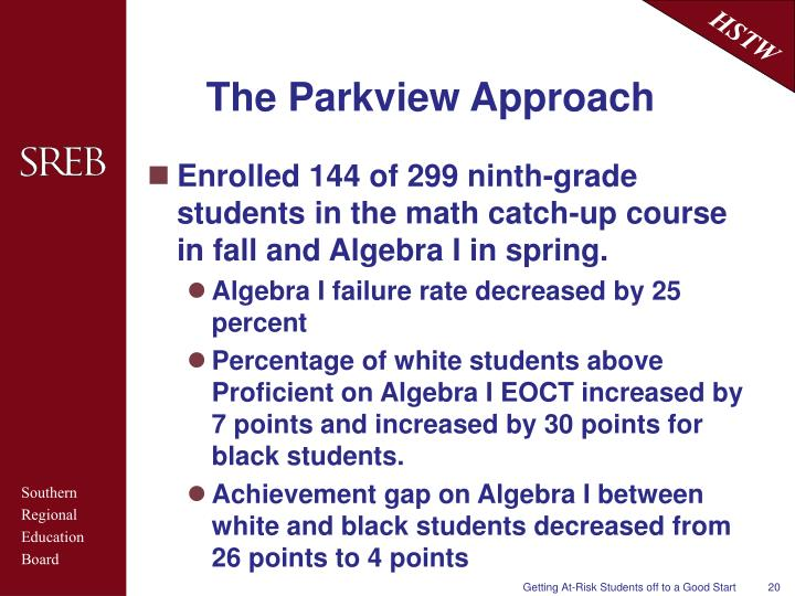 The Parkview Approach