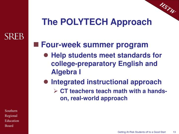 The POLYTECH Approach
