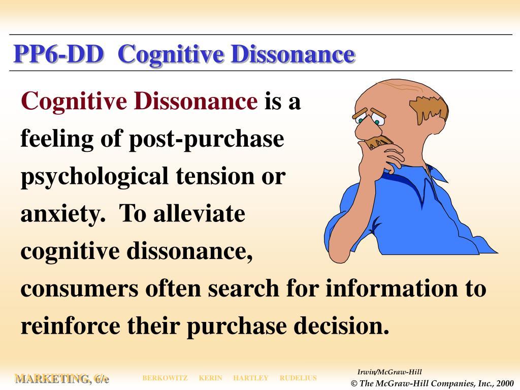 PP6-DD  Cognitive Dissonance