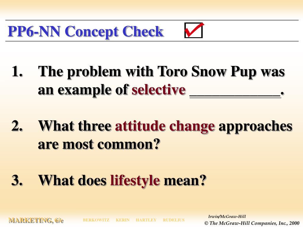 PP6-NN Concept Check
