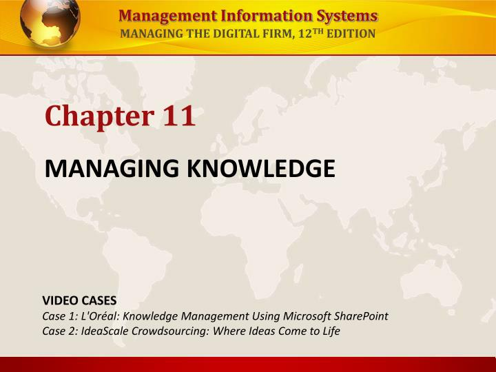 Managing knowledge l.jpg