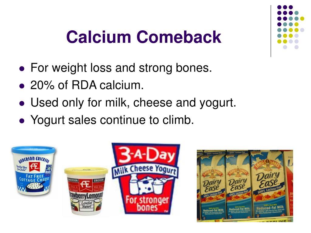 Calcium Comeback