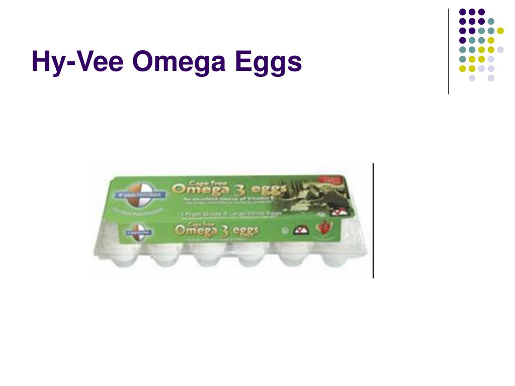 Hy-Vee Omega Eggs