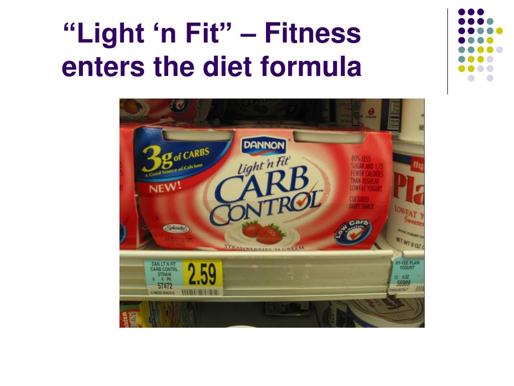 """Light 'n Fit"" – Fitness enters the diet formula"