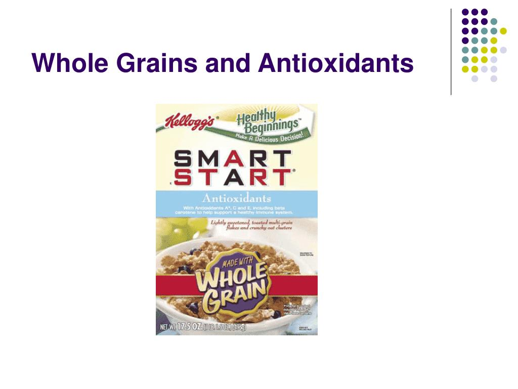 Whole Grains and Antioxidants