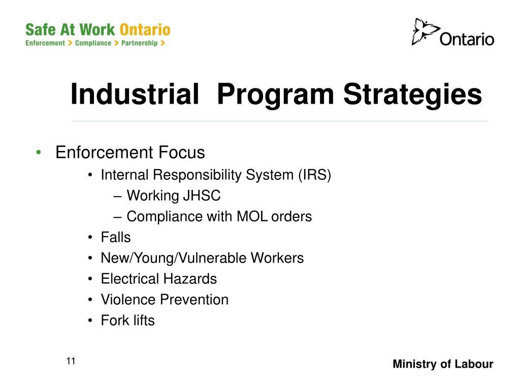 Industrial  Program Strategies