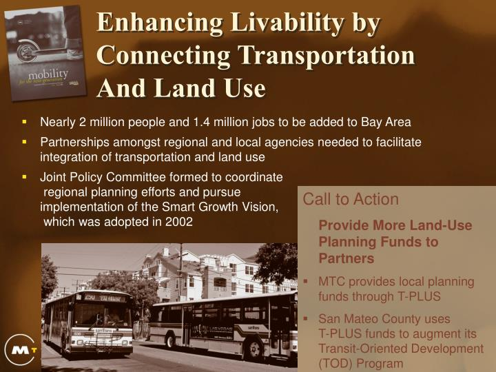 Enhancing Livability by Connecting Transportation