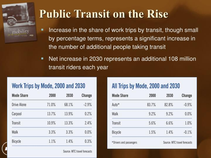 Public Transit on the Rise