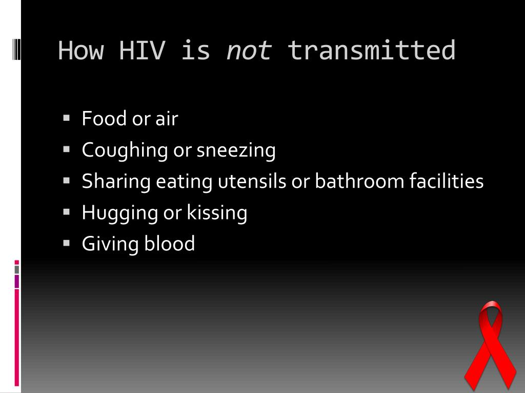 How HIV is