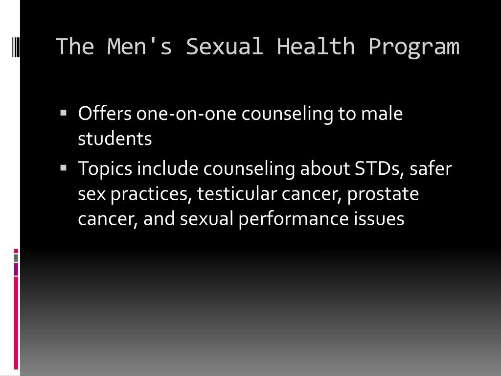 The Men's Sexual Health Program