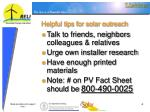 helpful tips for solar outreach4
