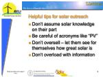 helpful tips for solar outreach5