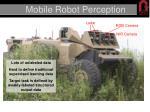 mobile robot perception