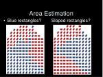 area estimation