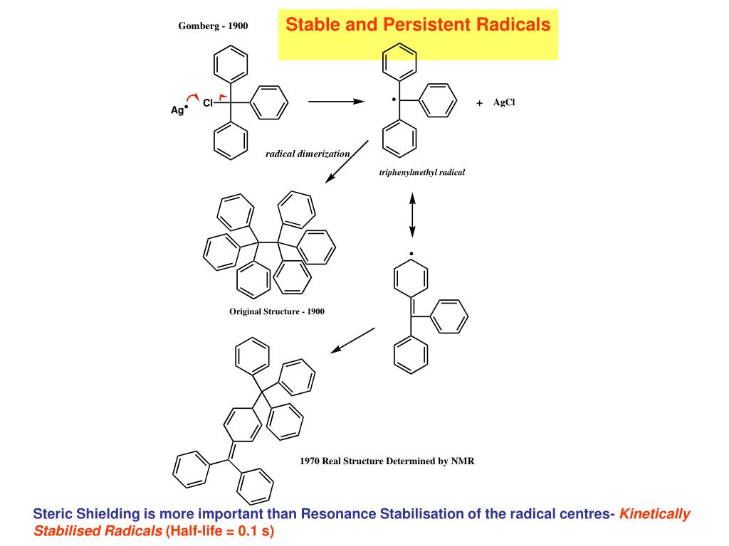 Stable and Persistent Radicals